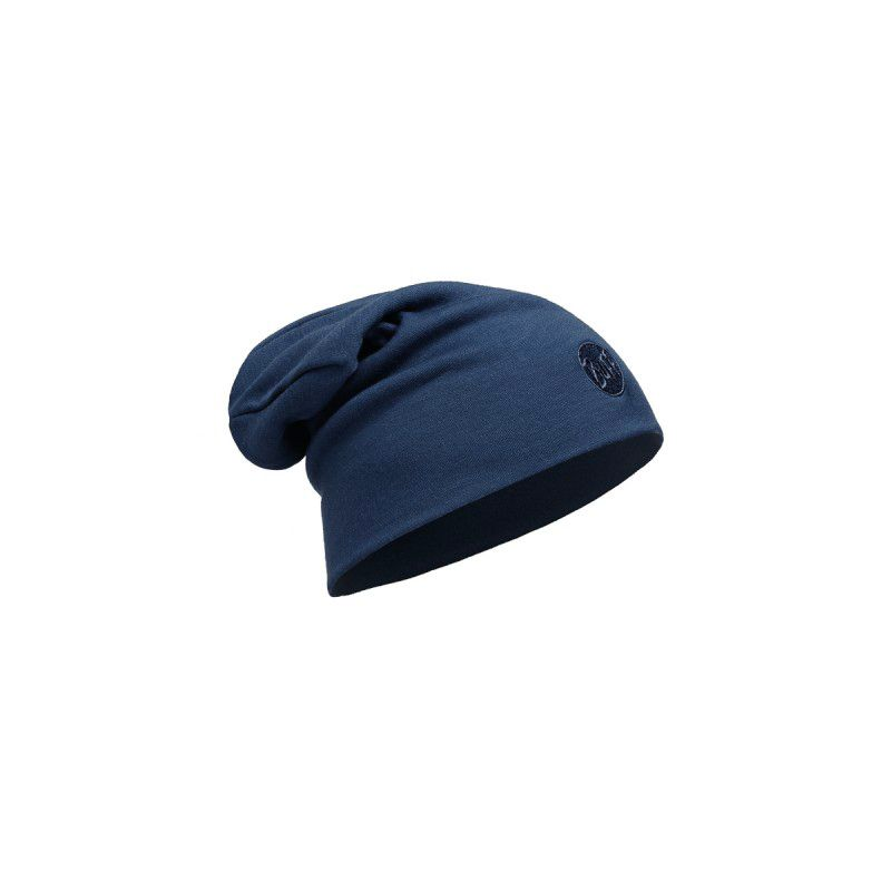 Buff Heavyweight Merino Wool Hat solid denim