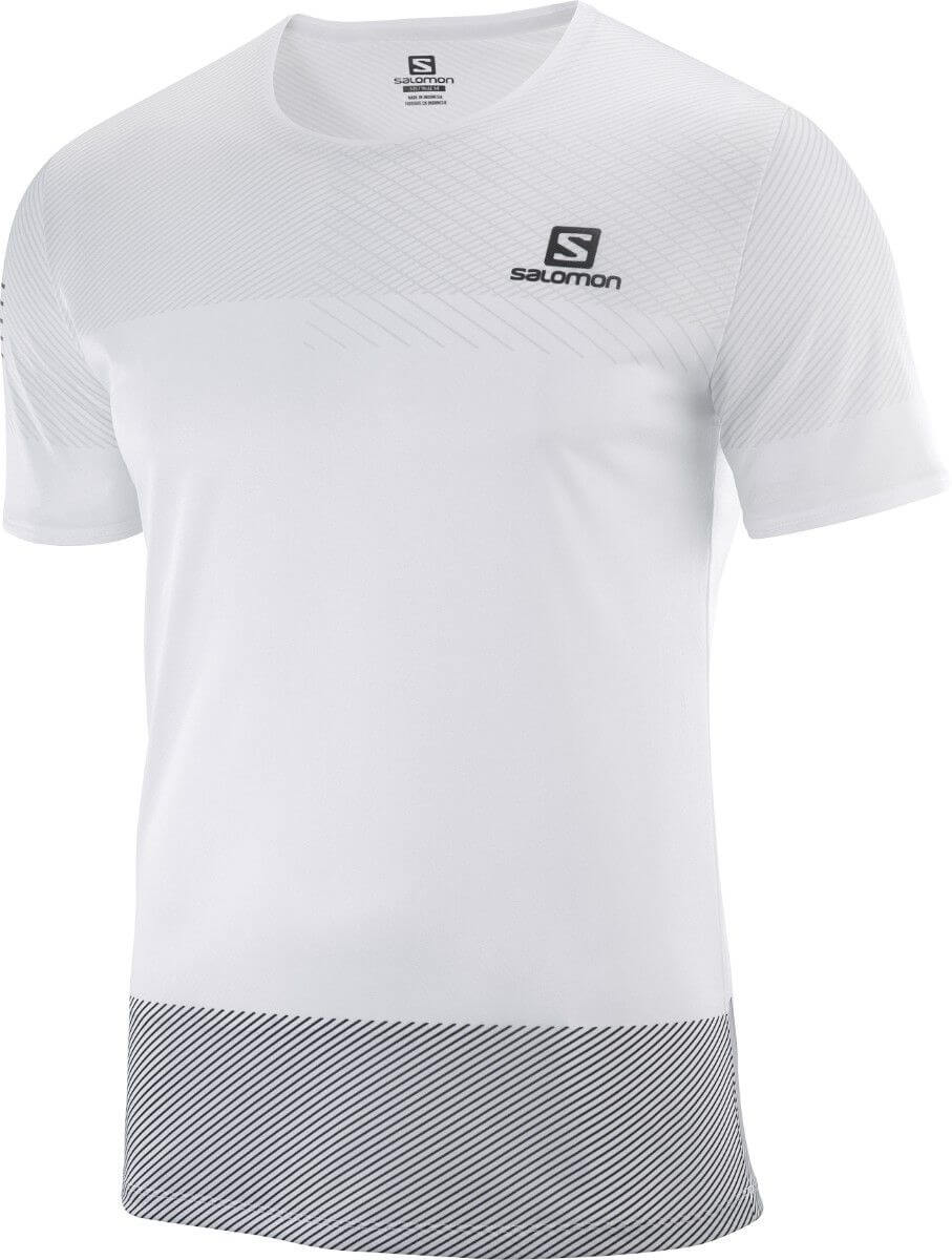 Salomon Sense Tee M white/black/alloy