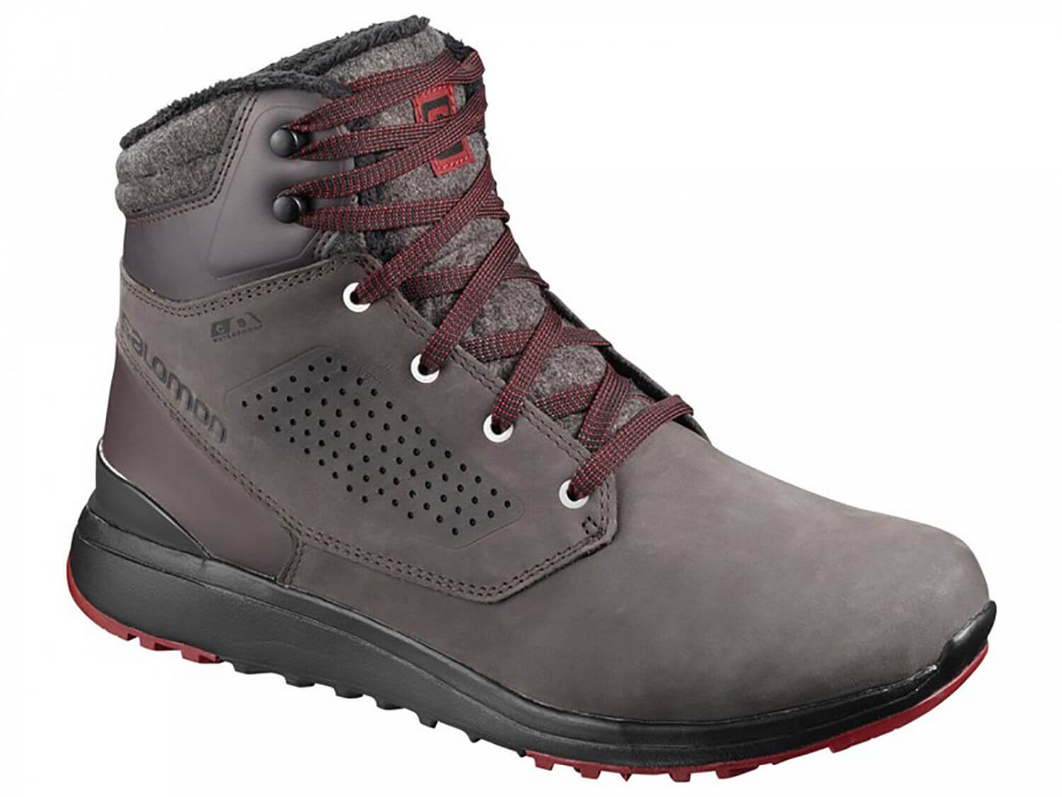 Salomon Utility Winter CS WP M shale/black/syrah